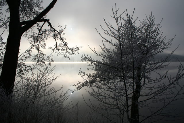Lac givré