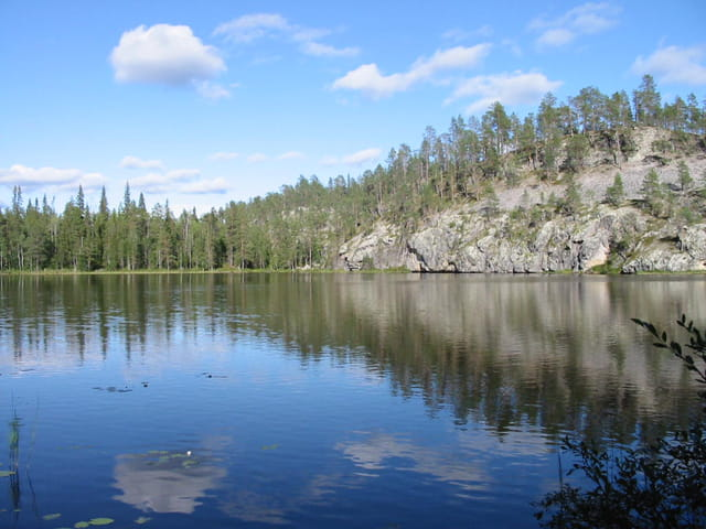 Lac paisible