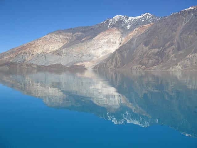 Lac Sarez et reflets