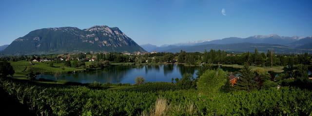 Lac St André vu du coté est