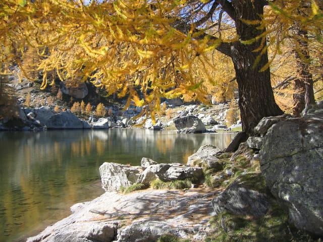 Lac vert de fontanalbe