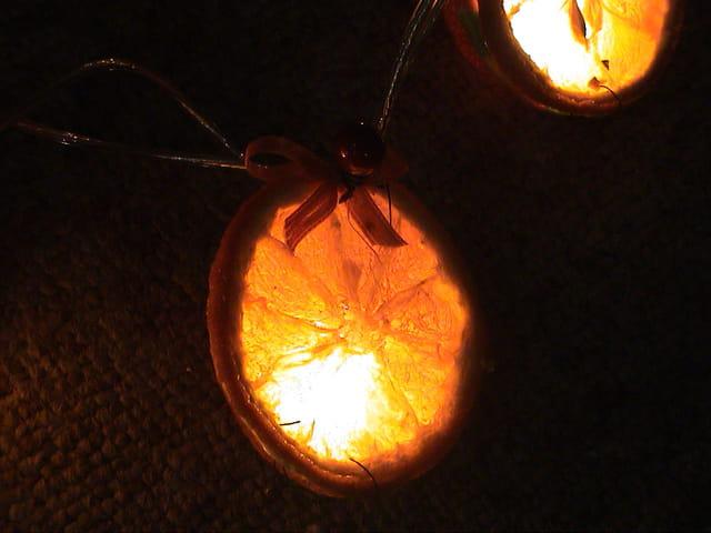 Lampion d'orange