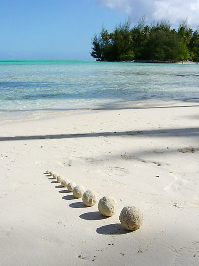 Land art - moorea