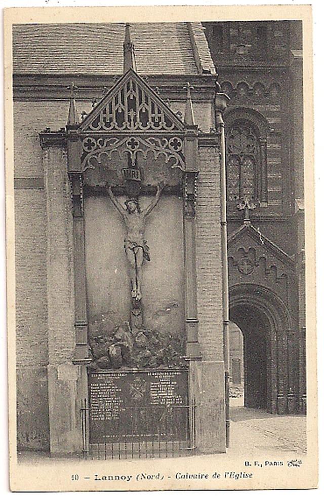 LANNOY du Nord - Le Calvaire de l'Eglise