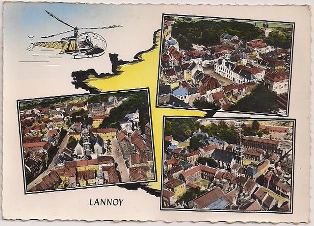 LANNOY du Nord vu d'Hélicoptère