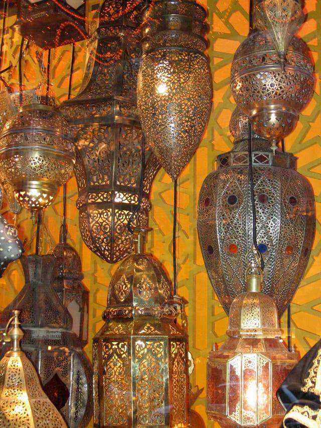 Lanternes du maroc