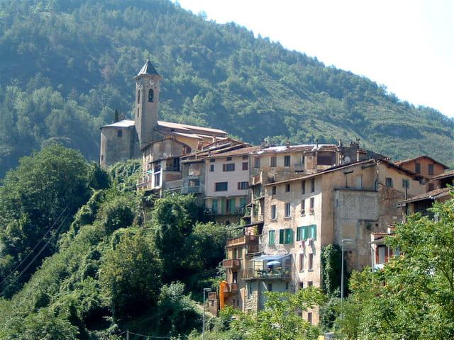 Lantosque village au top