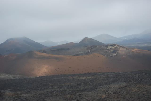 Lanzarote, le parc national de Timanfaya