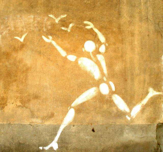 L'art de la rue.