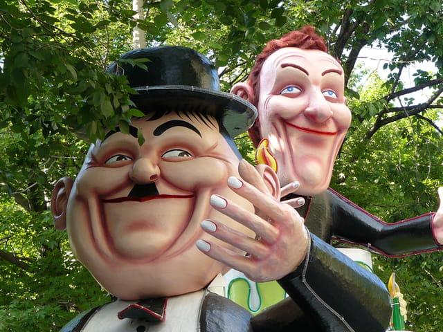 Laurel et Hardy, Juste pour Rire 2007