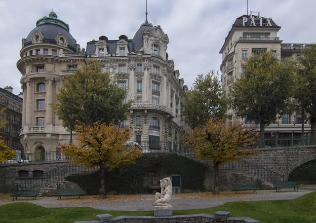 Lausanne, le quartier de Saint-François