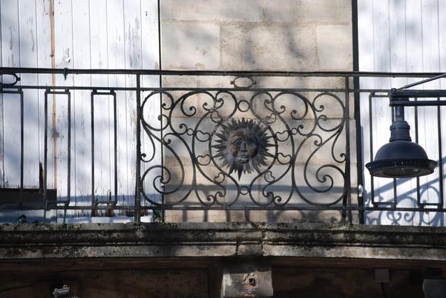 le balcon ancien