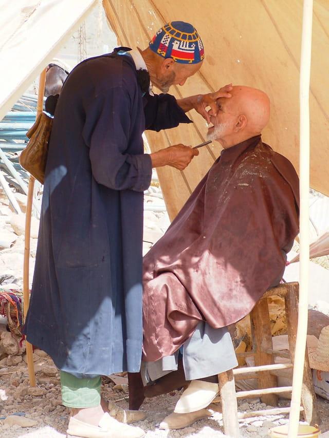 Le barbier du haut atlas