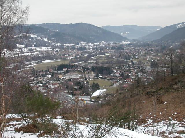 Le bas de la vallée