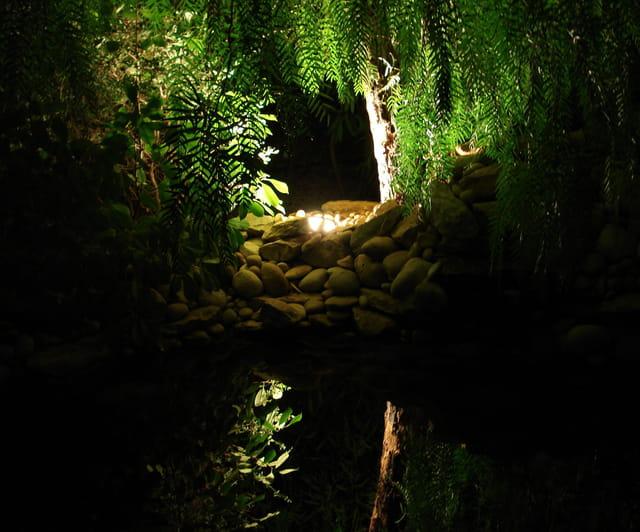 Le bassin, nocturne