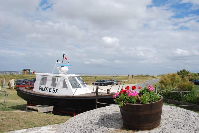 le bateau décoratif