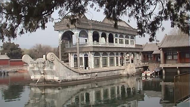 le bateau en marbre