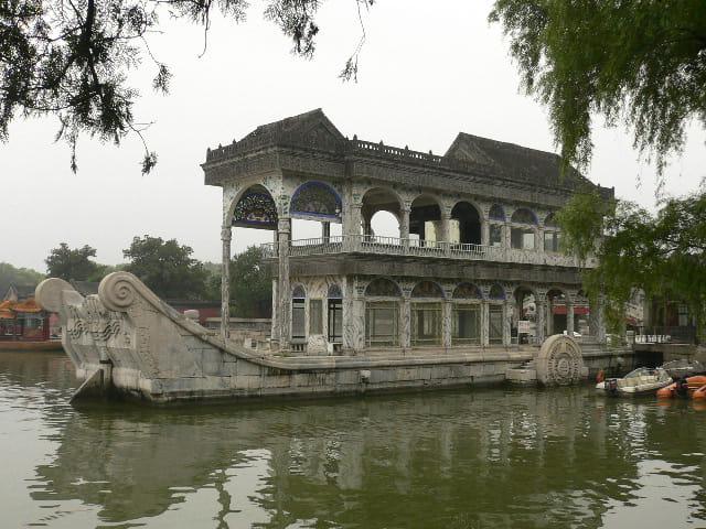 Le bateau en marbre de ci'xi