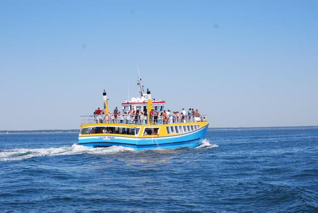 le bateau promenade sur le Bassin d'Arcachon