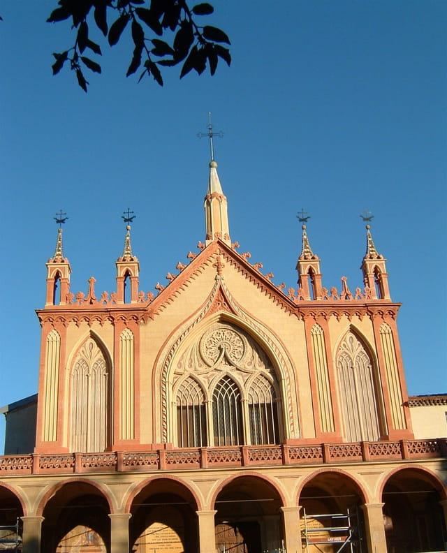 Le beau monastère de Cimiez