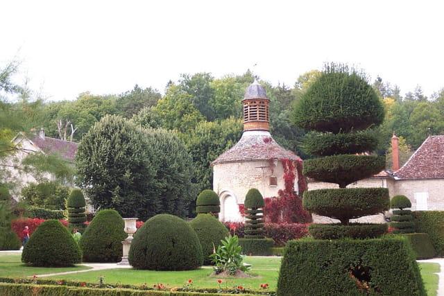 Le beau parc de l'abbaye