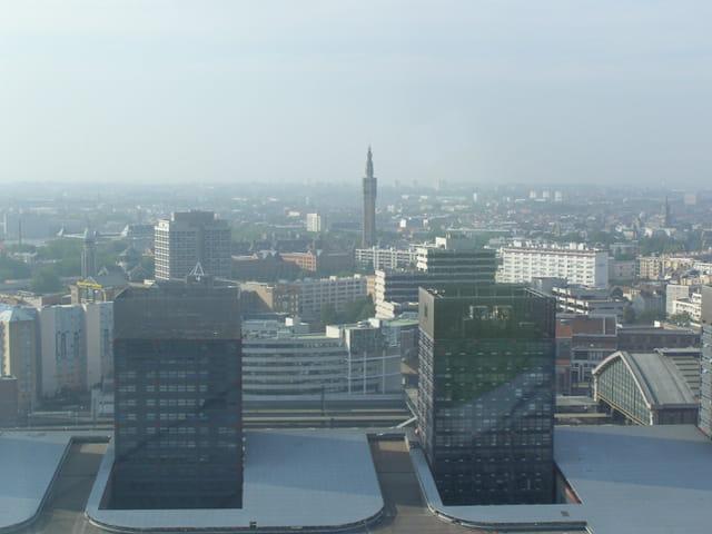 Le beffroi de la mairie de Lille