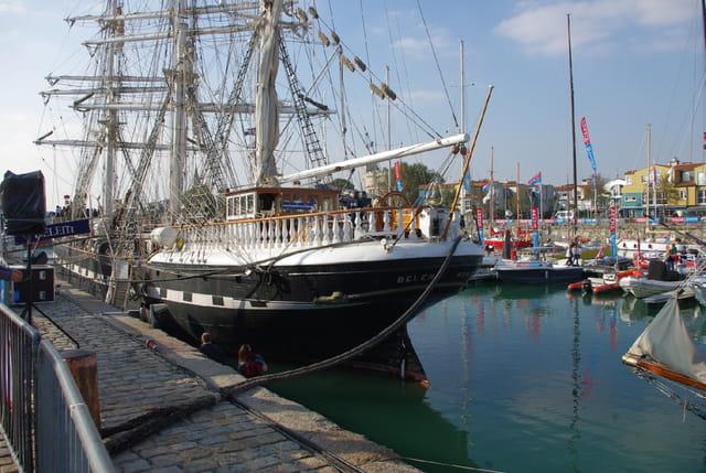Le Belem à La Rochelle