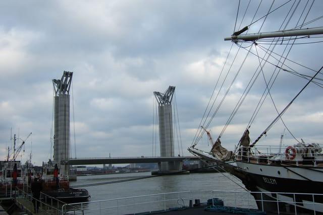 Le belem et le 6ème pont