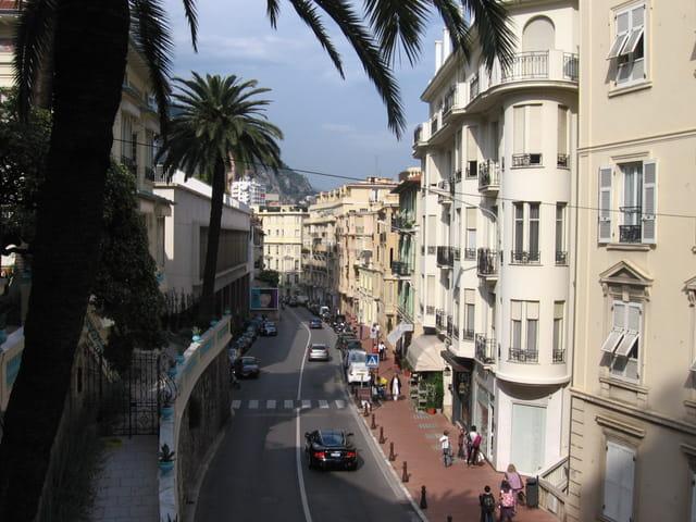 Le Boulevard d'Italie à Monte-Carlo