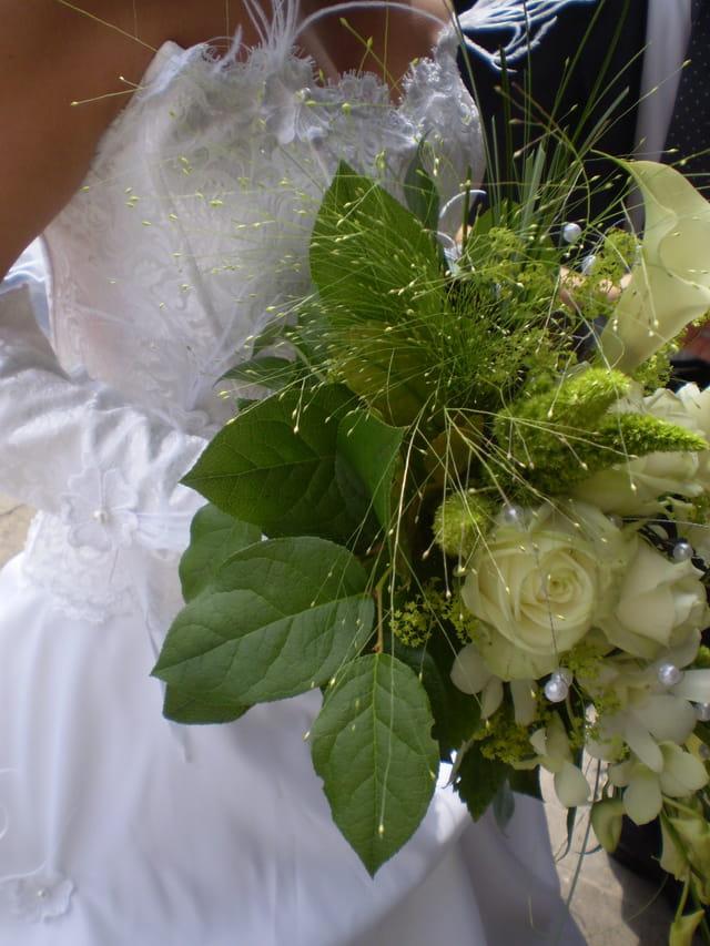 Le bouquet de la mari e par chantal surquin sur l 39 internaute - Le bouquet de la mariee ...