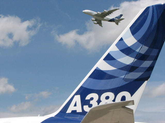 Le bourget 2007 - airbus a880