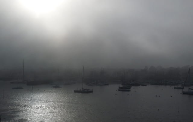 Le brouillard brouille tout (Juliane)
