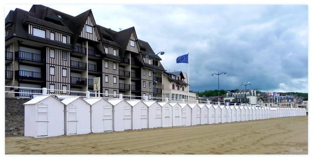 Les cabanes de plage...