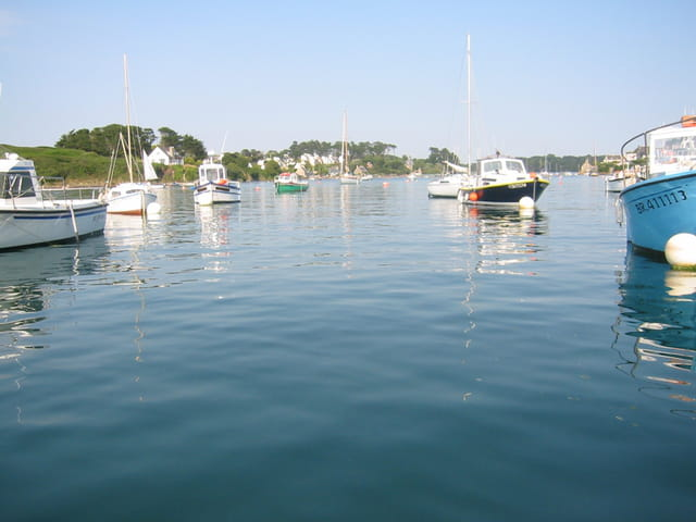 Le calme au port