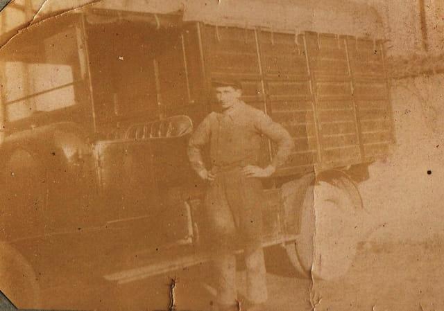 Le camion du menuisier