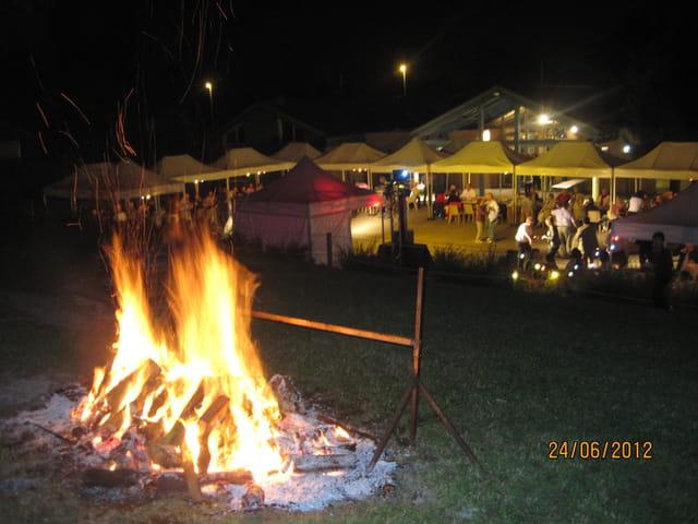 Le camp du drap d'or ... au Pecq
