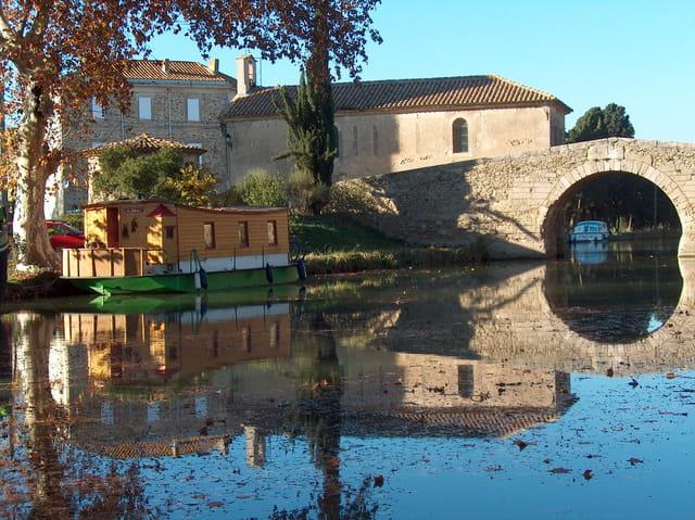 Le canal du midi en automne