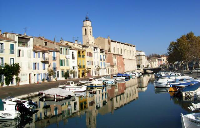 Le canal Saint-Sébastien de Martigues