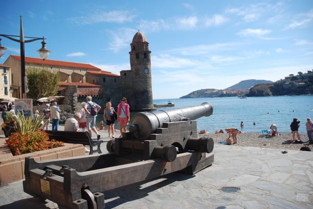 le canon de Collioure