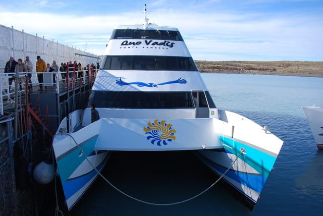 Le catamaran du lac Argentine