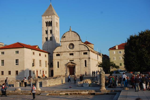 le centre historique romain de Zadar
