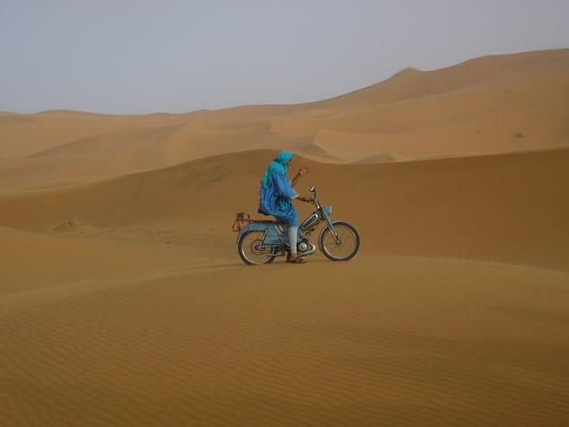 Le chameau à deux roues