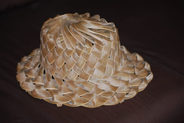 Le chapeau traditionnel gouadeloupéen