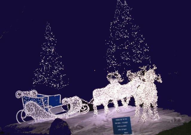 Le chariot du Père Noël