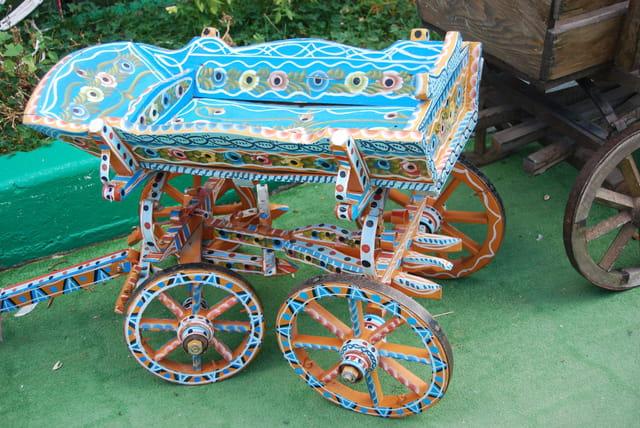 Le chariot peint