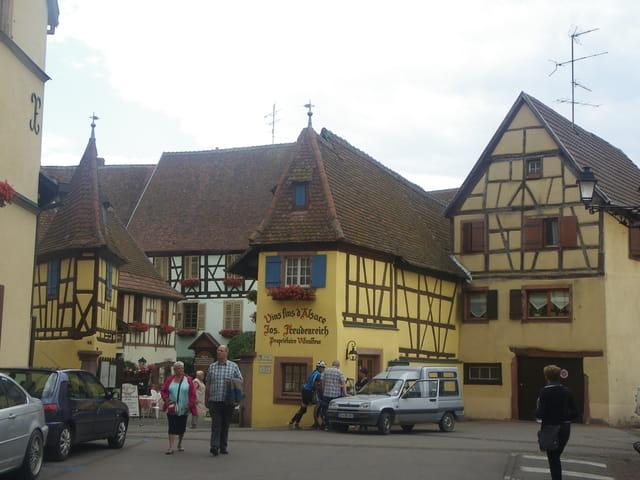 Le charme de l'Alsace