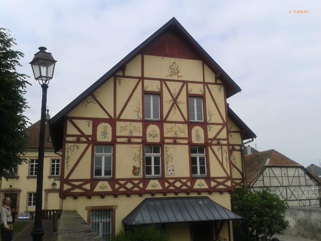 Le charme des maisons à colombages