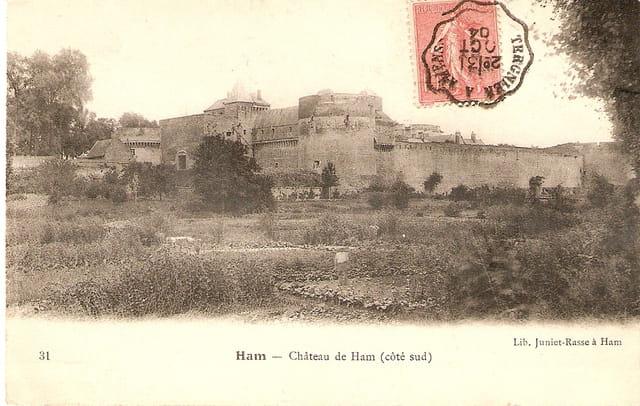 Le chateau coté sud