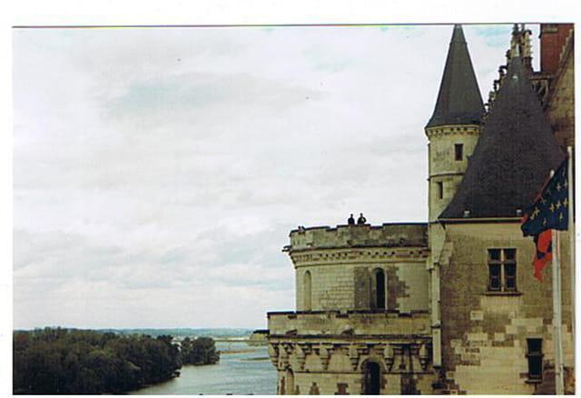 Le château d'amboise et la loire