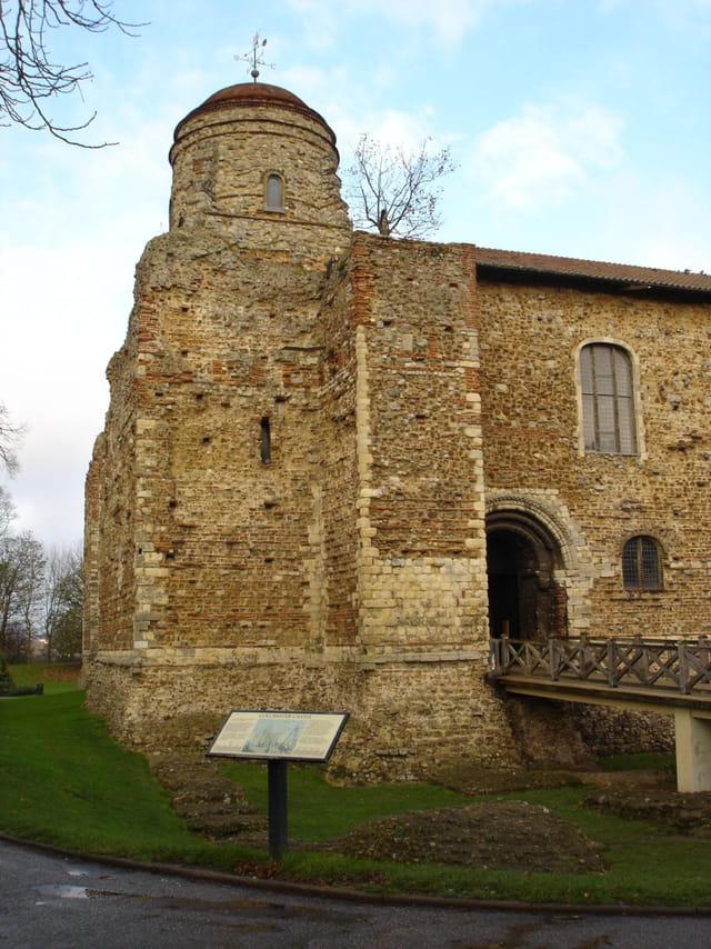 Le château de colchester